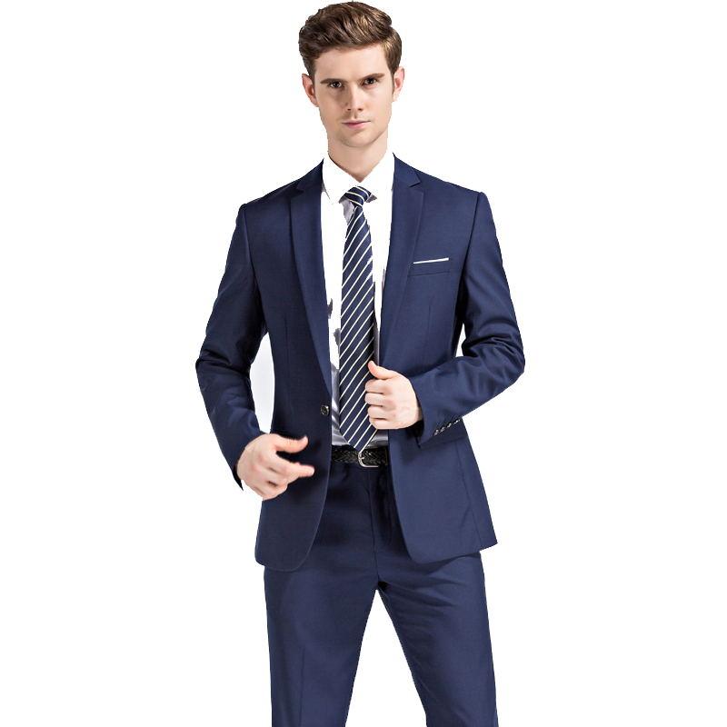 Online Get Cheap Suit Men Business Navy -Aliexpress.com | Alibaba ...
