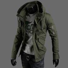 Plus größe M-5XL 2017 frühling jacken für männer heiß-verkauf männer freizeitjacke mode mens militärjackenmantel KEINE. Y146