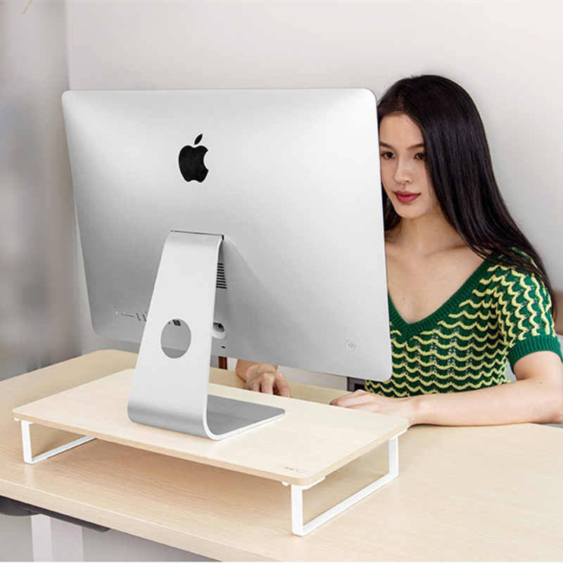 Monitor Riser Houder LCD LED Display Verhoog Base Laptop Stand Desktop Afstand Saving Lapdesk voor iMac