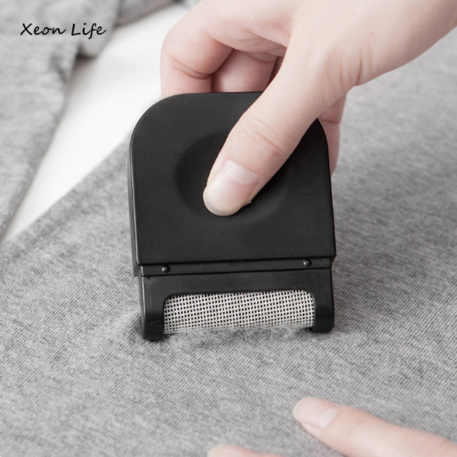 ISHOWTIENDA New 1pc 6.4*2*8cm Lint Clothes Sweater Shaver Fluff Fuzz Fabrics Portable Remover Pill Handheld Dust Lint Remover