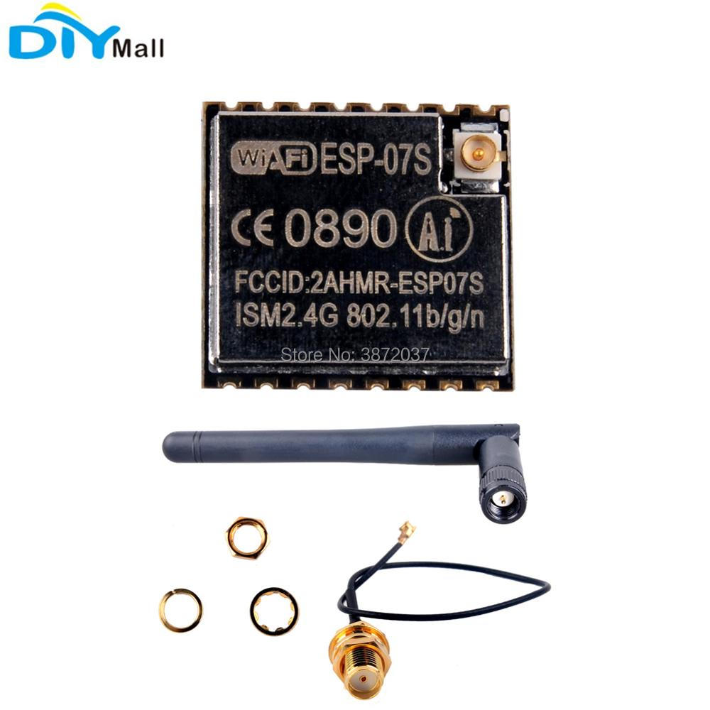 US $2 69 10% OFF|ESP8266 ESP 07S Serial to Wifi Wireless Module 2 4G 3DBI  Antenna U FL to Female SMA Cable for Arduino-in Home Automation Modules  from