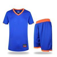 Summer Mens Basketball Jerseys Pro Basketball Clothes Suits Uniforms Sets Breathable Basketball Training Shirts+Shorts 2pcs