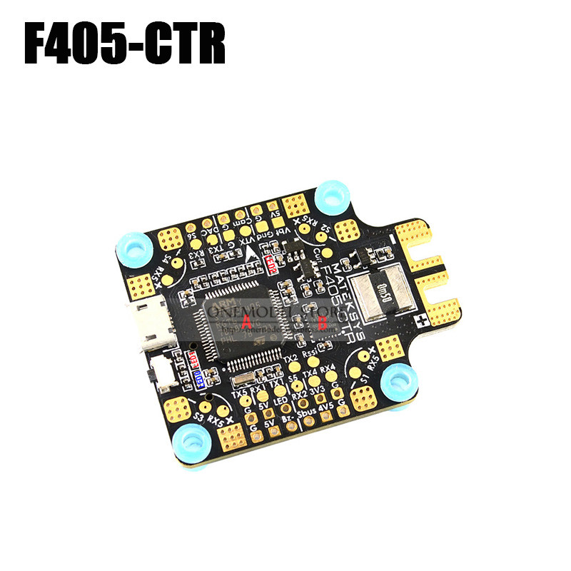 Matek Systems FLIGHT CONTROLLER F405-CTR f405ctr Controller Built-in PDB OSD 5V/2A BEC Current Sensor for RC Drone(China)
