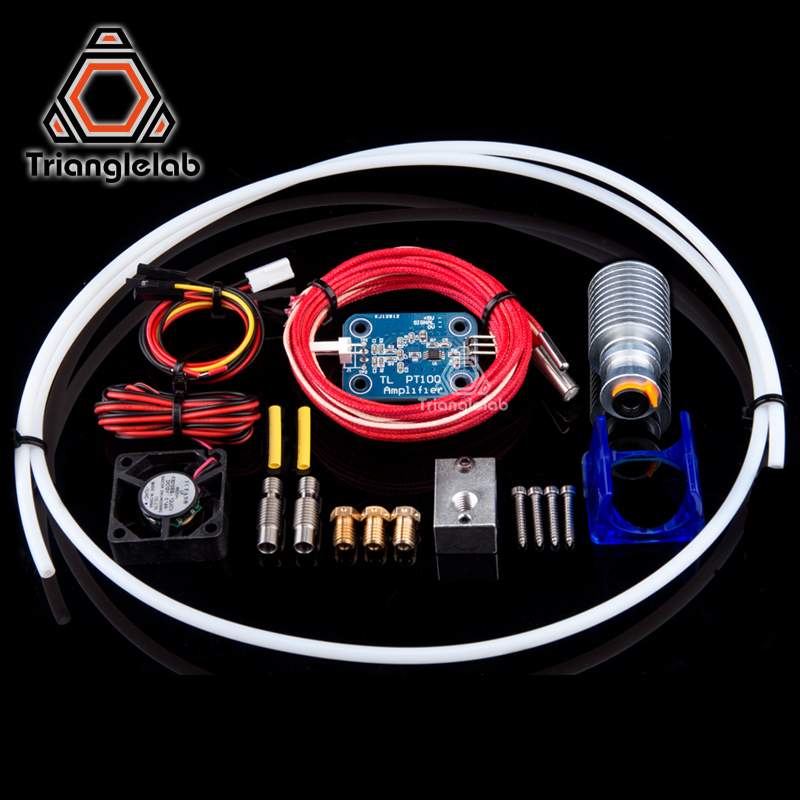 V6 PT100 Total Upgrade Kit &V6 3D Print J-head hotend Single Cooling Fan kit for titan extruder areo free shipping free shipping 97p3153 39j2473 fan pabst 3212 j 2n pseries 9111 520 7029 6c3 9131 52a
