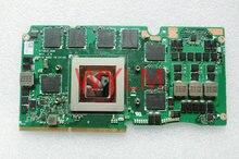 Darmowa wysyłka oryginalny 4G GDDR5 GTX 880 M GTX880M G750J G750JZ N15E-GX-A2 VGA karty graficznej 100% Testowane dobrze