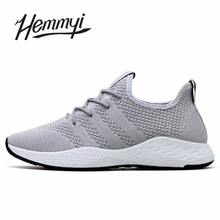 Breathable Men Sneakers Male Shoes Adult Red Black Gray High Quality Comfortable
