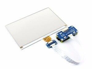 Image 3 - 7.5 inç kağıt şapka (C) 640x384 e mürekkep ekran modülü üç renkli SPI arayüzü ahududu Pi ile uyumlu 3B/3B +/sıfır/sıfır W