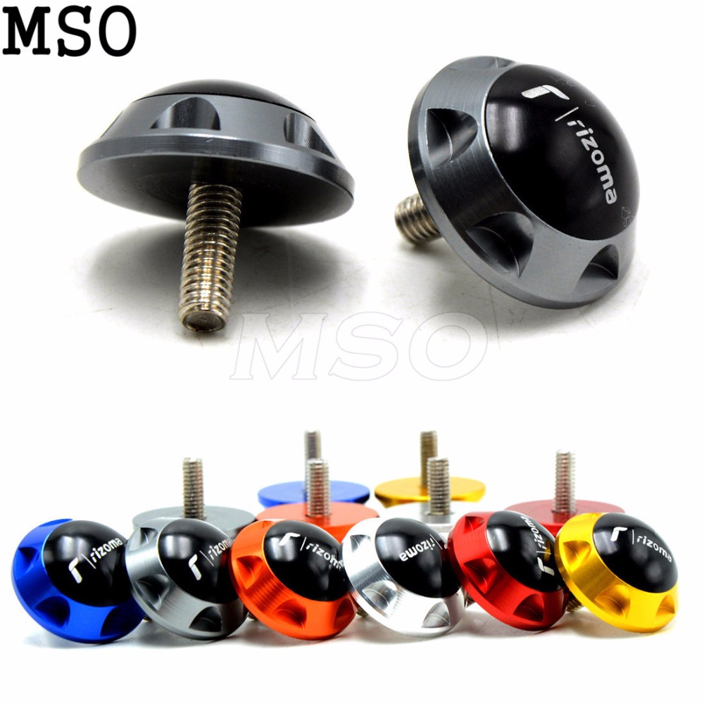 cnc aluminum usually 6mm Motorcycle Accessories motorcycle decorative screws for HONDA CB600F/CB650F Hornet 2007 2008 2009 2010
