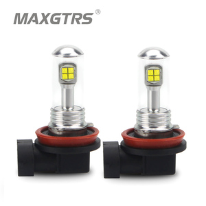 Image 1 - 2x H4 H7 H8 H11 9005 9006 HB3 HB4 40W CREE LED Chips Bulb Daytime Running Light 6000K White Car Fog Lamps DRL Headlight DC12V