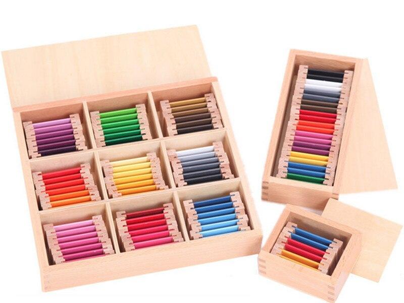 Bébé Jouet Montessori Couleur Tablet Éducatifs de La Petite Enfance L'éducation Préscolaire Formation Enfants