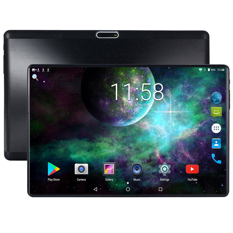 Google 10 Inch Tablet Android 8.0 4GB RAM 64GB ROM Octa Core 1280X800 2.5D IPS Screen Dual SIM Cards 3G 4G FDD LTE GPS Pad