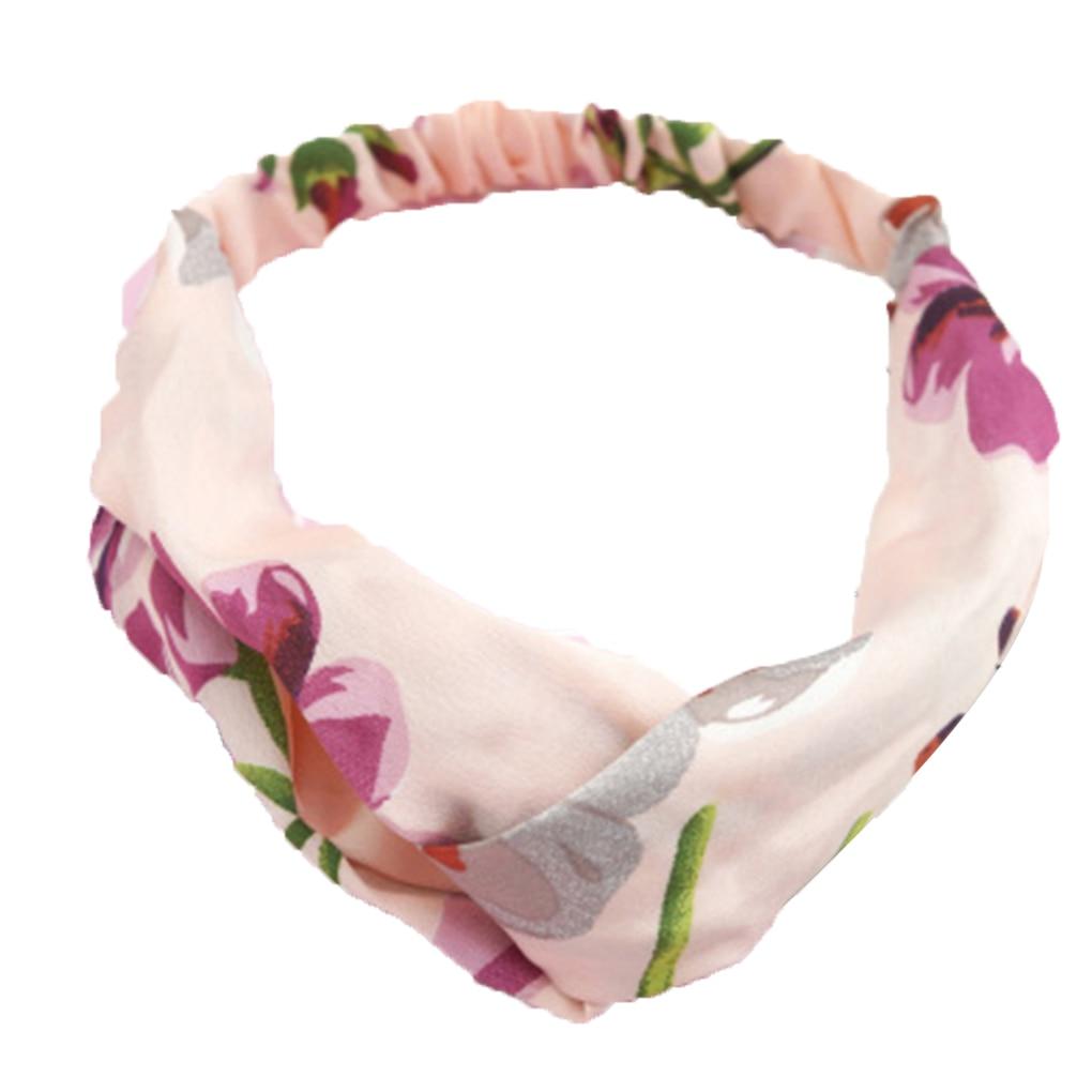 Aliexpress Buy New Women Silk Flower Headband Flower Head Wrap