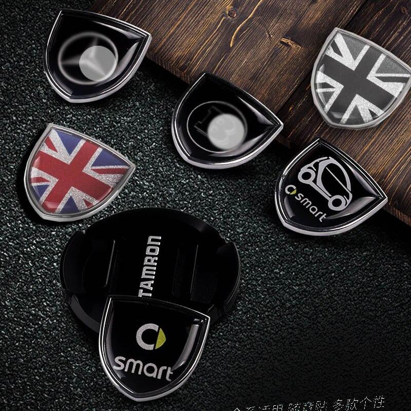 Emblem Sticker Plastic Refit Grille Badge logo hood badge Benz Smart 453 fortwo