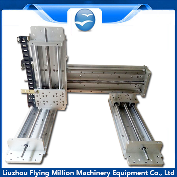Manufacturer gantry slide/combination with screw straight movement module/XYZ/gantry four axis sliding table|sliding table|table slide|xyz axis - title=