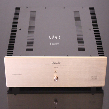 POA-220 amplifier chassis / Preamplifier case / AMP Enclosure DIY box (400 *115*390mm)