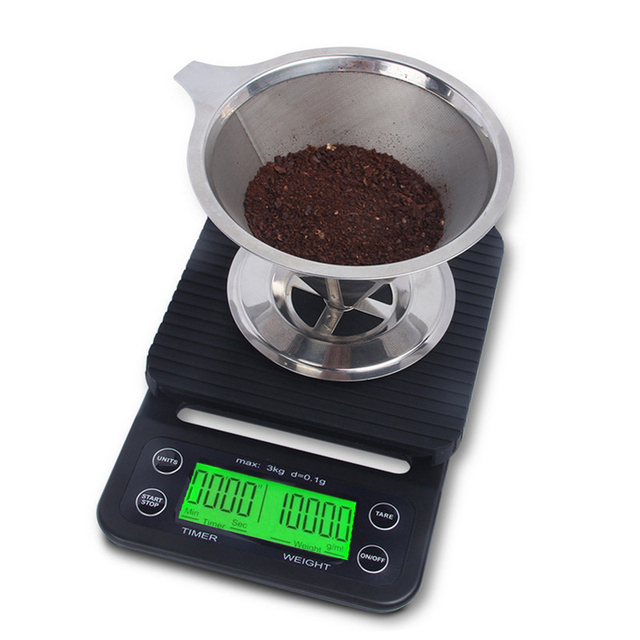 Kitchen Weight Scale Nutone Exhaust Fan 3kg 0 1g Coffee Timer Digital Electronic With Household