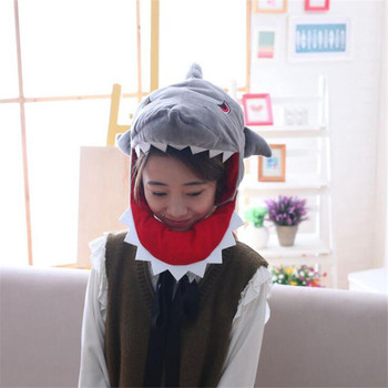 Плюшевая Шапка Акула 1