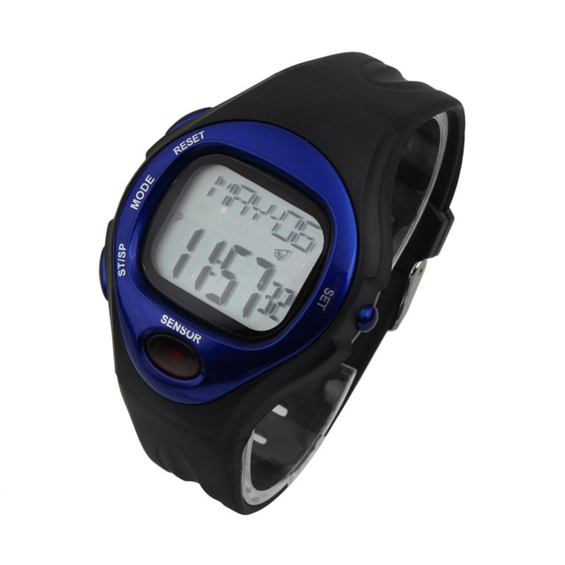 Men Watch Women Watches bayan kol saati skmei Exquisite Digital LCD Pulse Heart Rate Monitor Calories Counter Fitness Watch 45* multifunction pulse heart rate calorie wrist watch silver black