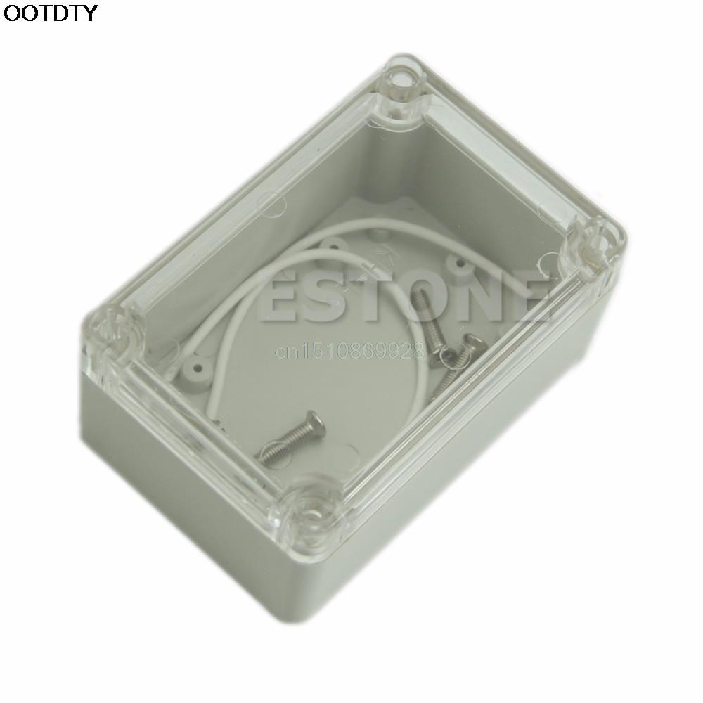 1vnt vandeniui skaidrus dangtis, plastikinis elektroninis projekto - Matavimo prietaisai - Nuotrauka 1