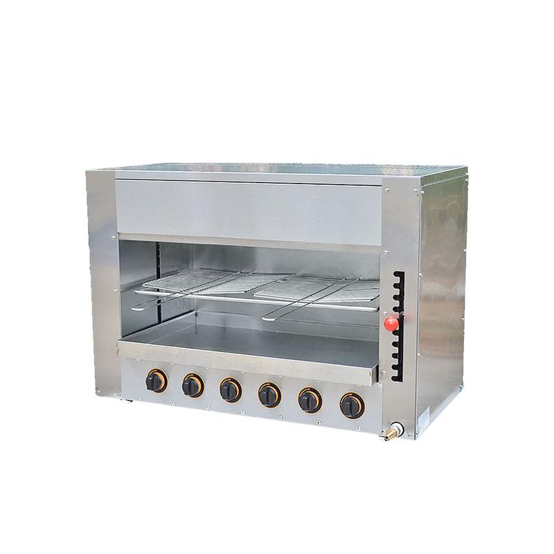 Rôtissoire de poulet de grande capacité de gaz de Jamielin commercial de Pizza/four de ménage FY-16.R Surface de rôtissoire de machine de gril