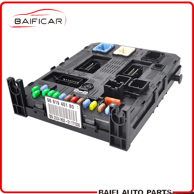 US $245 0 |Baificar Brand New Genuine Modul BSI FuseBox Fuse Box 9660105680  6580GE 9661940180 H02 01 For Peugeot 307 Citroen C4 C5-in Fuses from