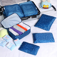 Patterns Of Travel Collection Package Thickening Waterproof Bag