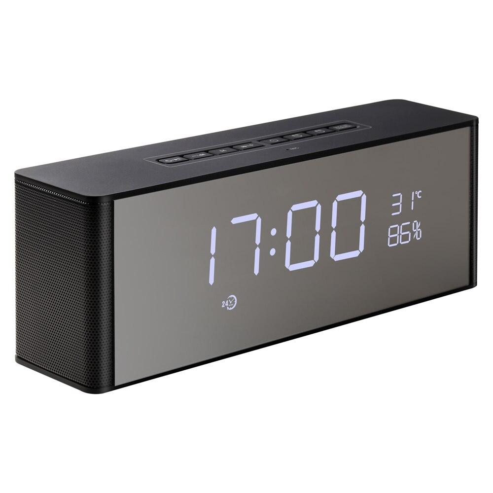 Abuzhen Bluetooth haut-parleur récepteur Super basse Portable Enceinte sans fil haut-parleur pour téléphone ordinateur Support TF FM réveil