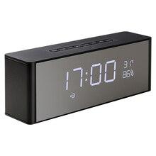 Abuzhen Bluetooth スピーカー受信機スーパー低音ポータブル妊娠してワイヤレススピーカー電話コンピュータサポート TF FM アラーム時計