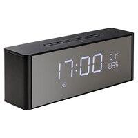 Abuzhen Bluetooth Speaker Receiver Super Bass Portable Enceinte Wireless Speaker for Phone Computer Support TF FM Alarm Clock