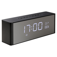 Abuzhen Bluetooth Speaker Receiver Super Bass Portable Enceinte Wireless Speaker for Phone Computer Support TF FM Alarm Clock