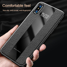 Ultra Thin Business Soft Leather For iphone Xs Max x 6 6s 7 8  Plus 7plus 8plus  Dirt-resistant Leather Case  Back Cover xincuco ultra thin leather protective case for iphone 6s plus 6 plus simple business style dark blue