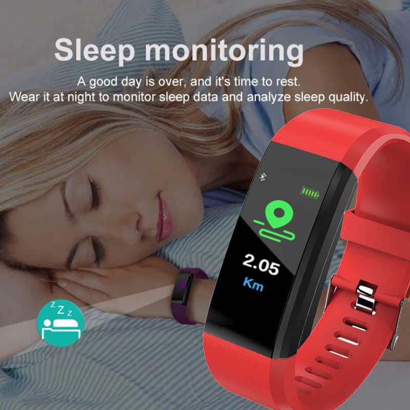 חדש smart watch גברים של כושר tracker פדומטר ספורט צמיד