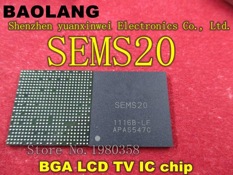 Free delivery 1PCS  SEMS20 SEMS20-LF BGA LCD TV IC chipFree delivery 1PCS  SEMS20 SEMS20-LF BGA LCD TV IC chip