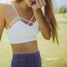 Crop Strappy Tank