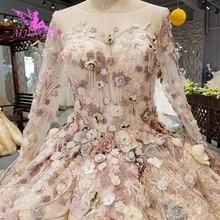 AIJINGYU piękne suknie ślubne kupić suknia królowej dla nowożeńców tosty krótki ukrainy ślubne suknie 2021 2020 Boho weselny sukienka
