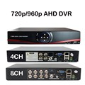 4CH/8CH 720 P 960 H P2P AHD AHD DVR Digital Video Recorder/Аналоговый/Гибридный 3in1 Главная безопасности Многофункциональный Для AHD/Аналоговые Камеры