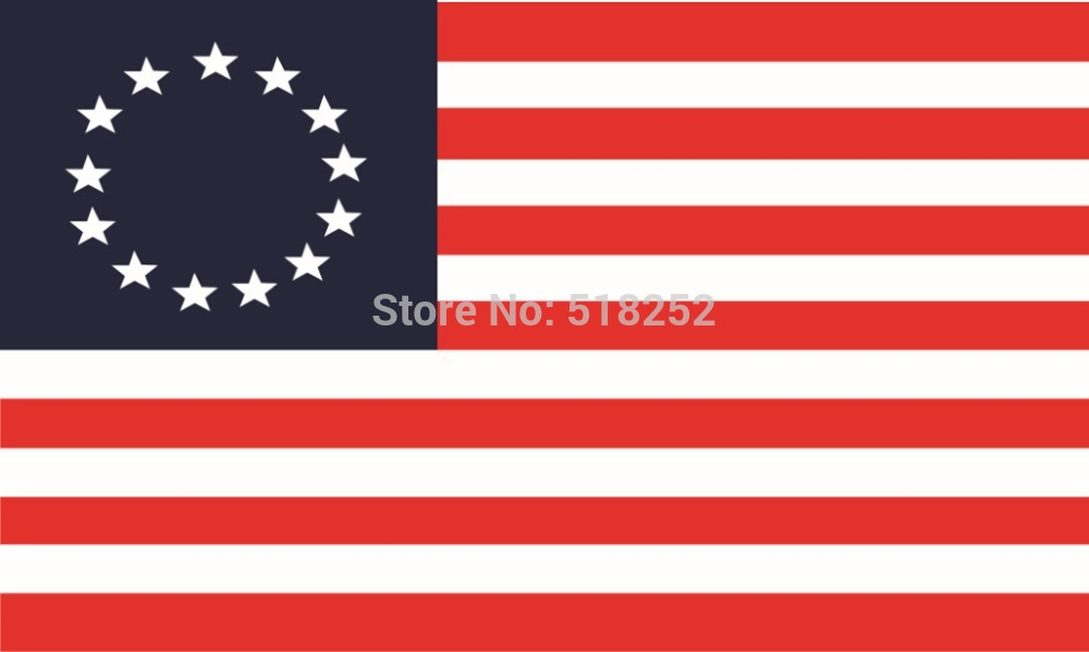 Betsy Ross Flag 3 X 5 New 3x5 American 13 Stars Usa Flag