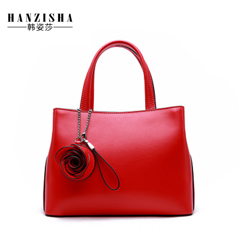 Fashion Genuine Leather Women Handbag Casual Solid Flower Famous Brand Luxury Design Leather Women Shoulder Tote Bag sac a main 2018 new brand fashion genuine leather women handbag luxury design solid cow leather women shoulder bag casual ladies tote bag