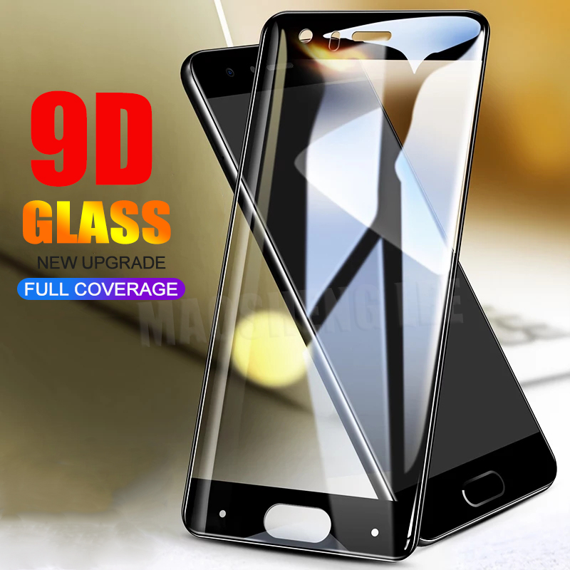 New 9D Tempered Glass For Huawei Honor 9 Screen Protector Full Cover Tempered Glass For Huawei Honor 9 Protective Film