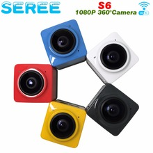 360 Degree 1280*1024 Action Camera 360 Degrees Panorama Wifi Video Camera 360×190 Large Panoramic Lens Sport Cameras