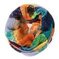 plaid infinity scarf women schal bandana Graffiti hijab cachecol feminino tartan foulard wrap stripe scarves bufandas cachecol