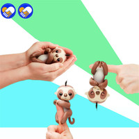 A Toy A Dream Cute Smart Sloth Unicorn Fingerlings Baby Monkey Hand And Feet Dynamic Finger
