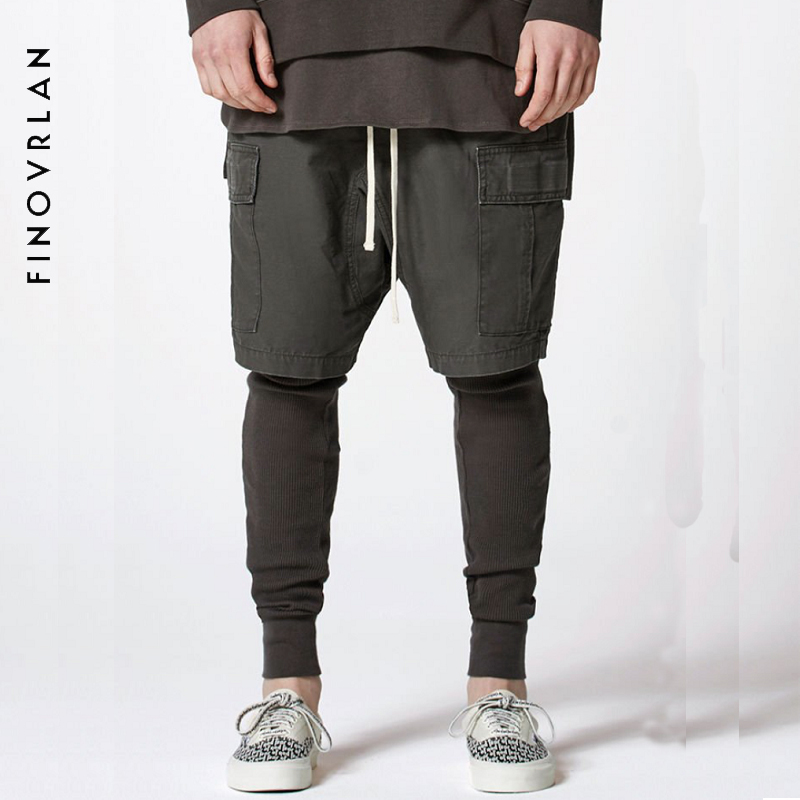 2018 SS Collection Mens Hightstreet New Clothing Shorts Homme Cotton Cargo Casual Shorts Men Summer Short Pants