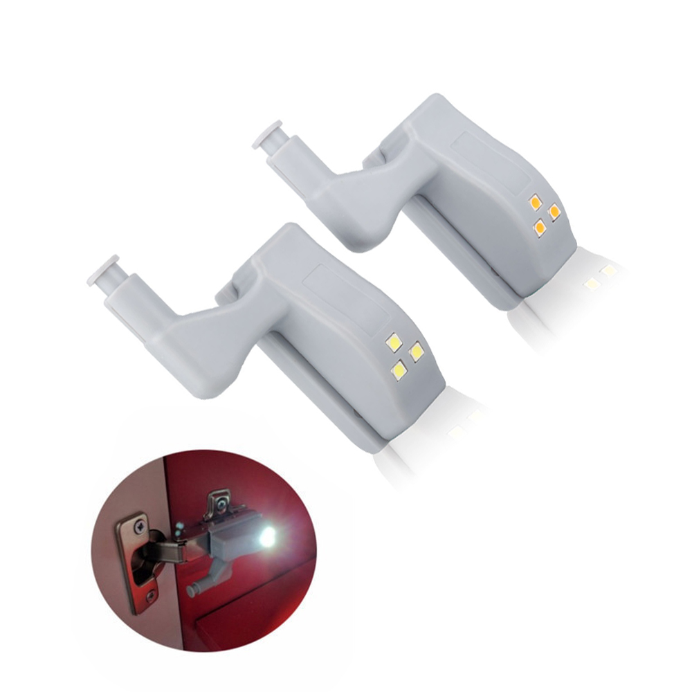 Universal Hinge LED Motion Sensor Night Light For Kitchen
