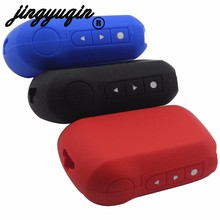 jingyuqin Key Fob Cover for Starline A92/A94/V62/A62/A64 Silicone Key Case Russian Two Way Car Alarm LCD Remote Control A92(China)