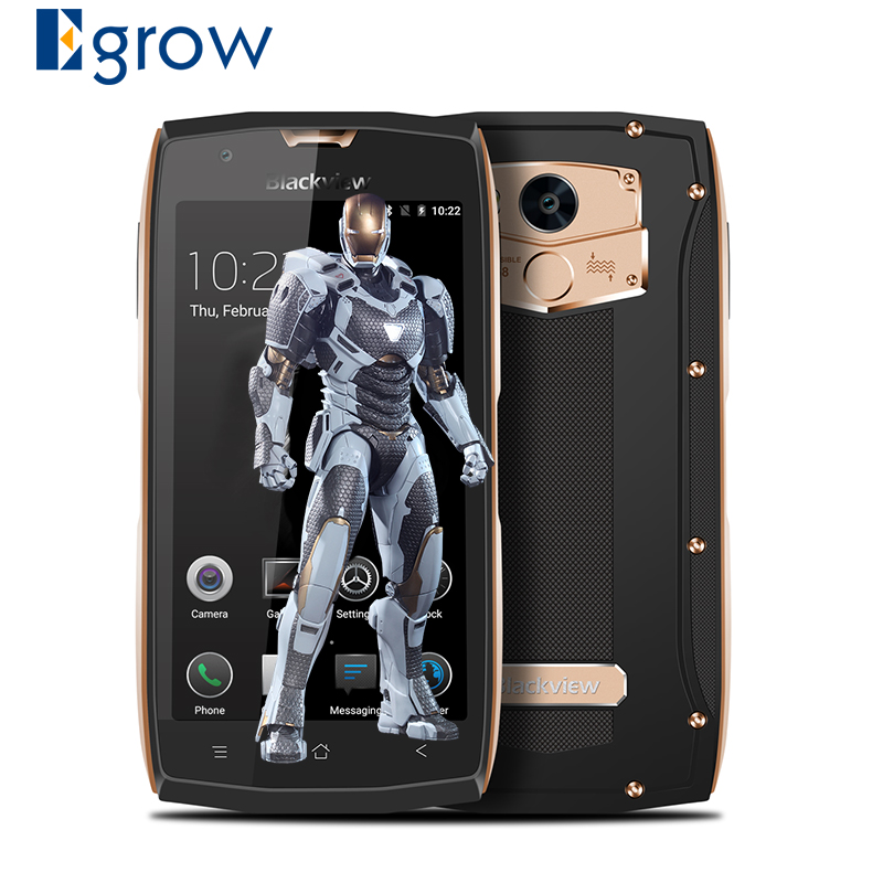 Blackview BV7000 IP68 Waterproof Smartphone Android 7 0 MTK6737T Quad core 2G 16G 5 0 1080