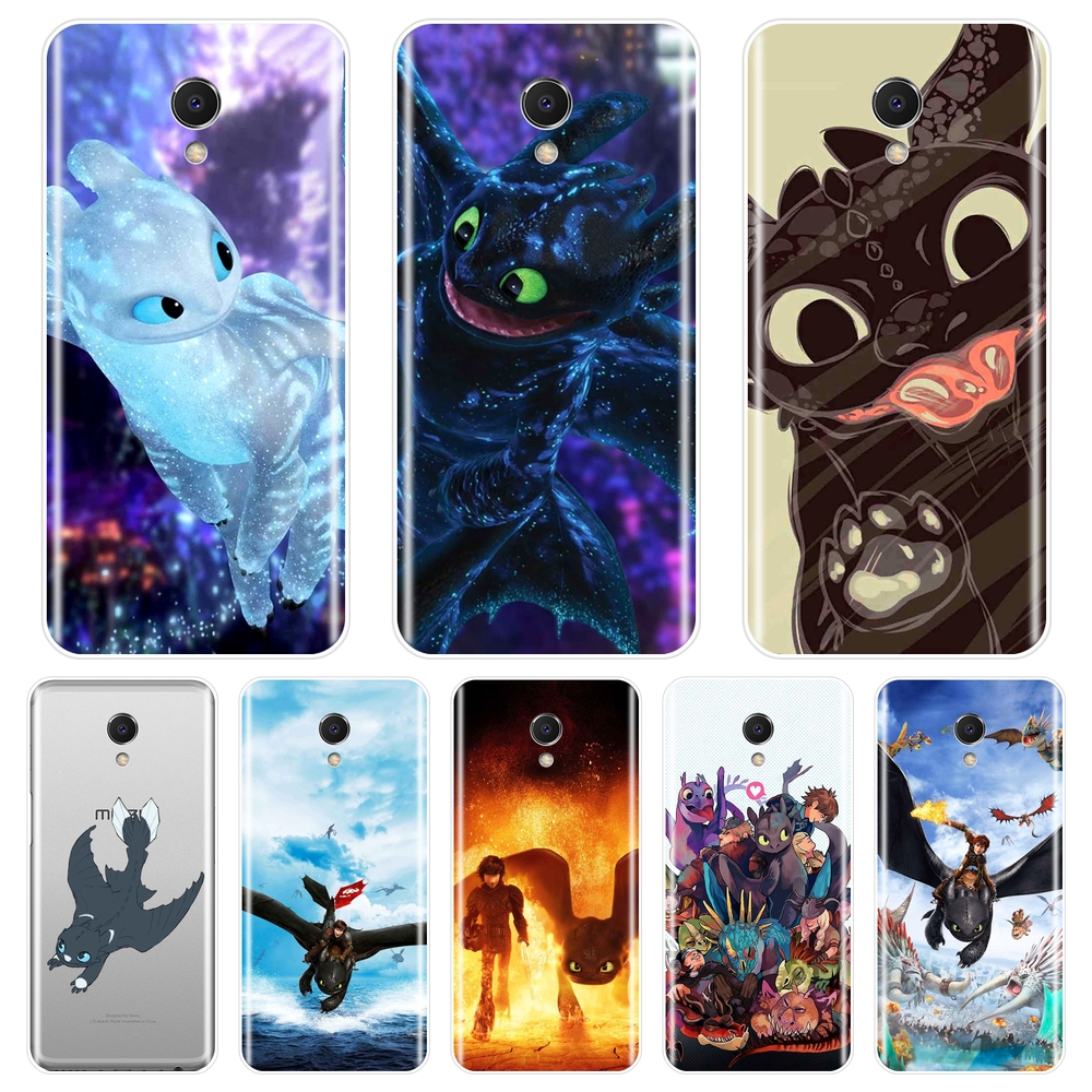 <font><b>TPU</b></font> Back Cover For <font><b>Meizu</b></font> M2 M3 M3S M5 M5C M5S M6 M6S <font><b>M6T</b></font> Silicone How To Train Your Dragon Phone <font><b>Case</b></font> For <font><b>Meizu</b></font> M2 M3 M5 M6 Note image