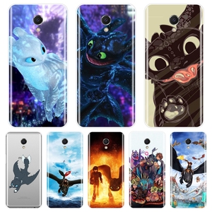 TPU Back Cover For Meizu M2 M3 M3S M5 M5C M5S M6 M6S M6T Silicone How To Train Your Dragon Phone Case For Meizu M2 M3 M5 M6 Note(China)