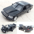 High Simulation Exquisite Baby Toys 1:32 Mercedes Benz W140 with Pull Back Function Openable Door As Gift For Kids