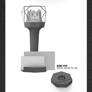 Image 2 - In stock LED KPOP MONSTA X Light Stick Ver.2 Official 2018 New Stick Lamp Concert Light up Lamp Gift Collection Hiphop Lights